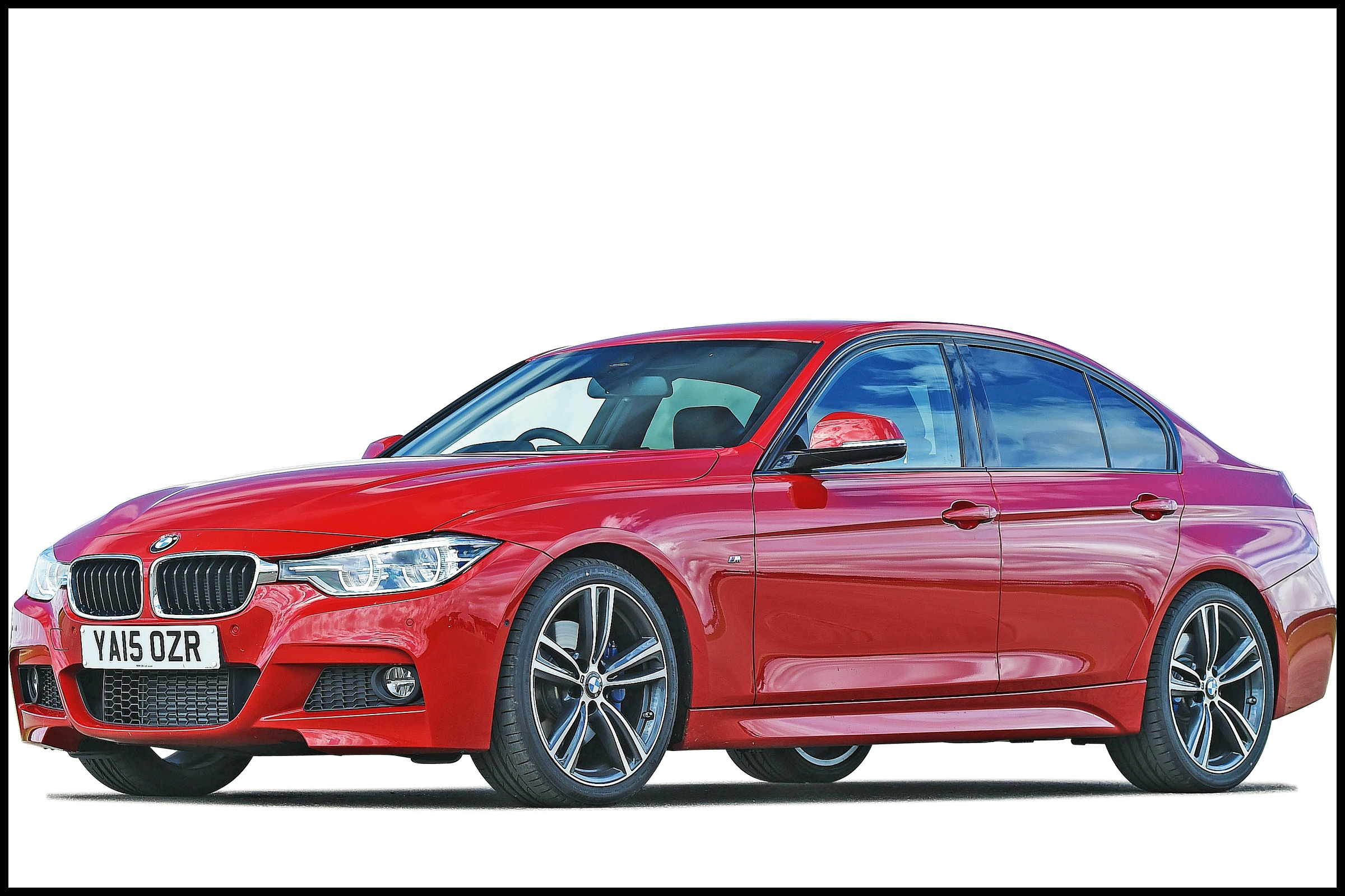 bmw 3 series saloon cutout uk