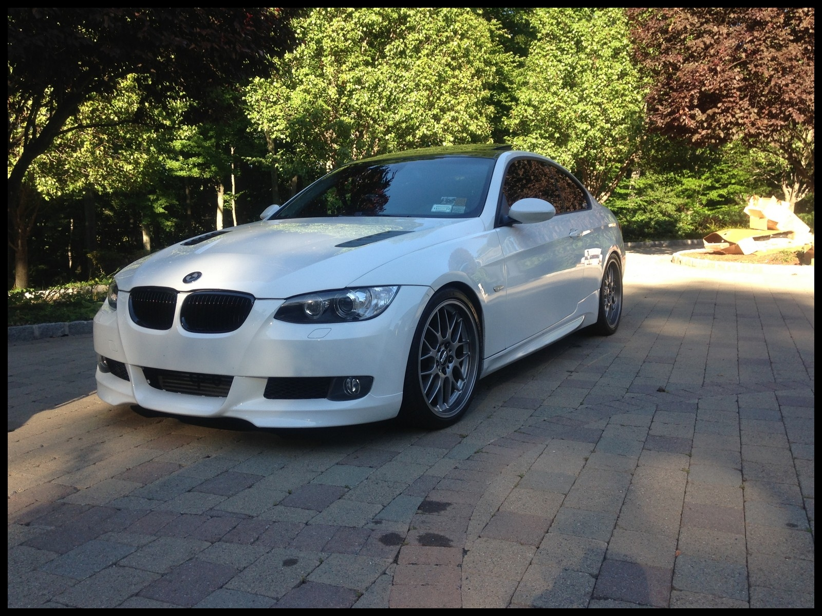 Alpine white 2008 BMW 335xi