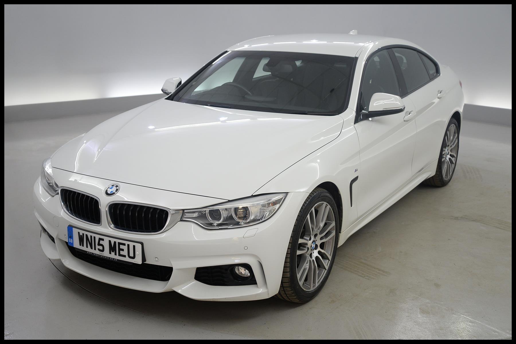 BMW 4 Series Gran Coupe 420d M Sport 5dr Auto PRO NAV XENONS BLUETOOTH 2015