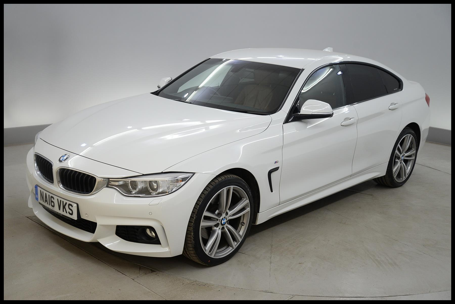 Used 2016 BMW 4 Series Gran Coupe 430d xDrive M Sport 5dr Auto [Professional Media] HEATED LEATHER DAB CD for sale in Bucks