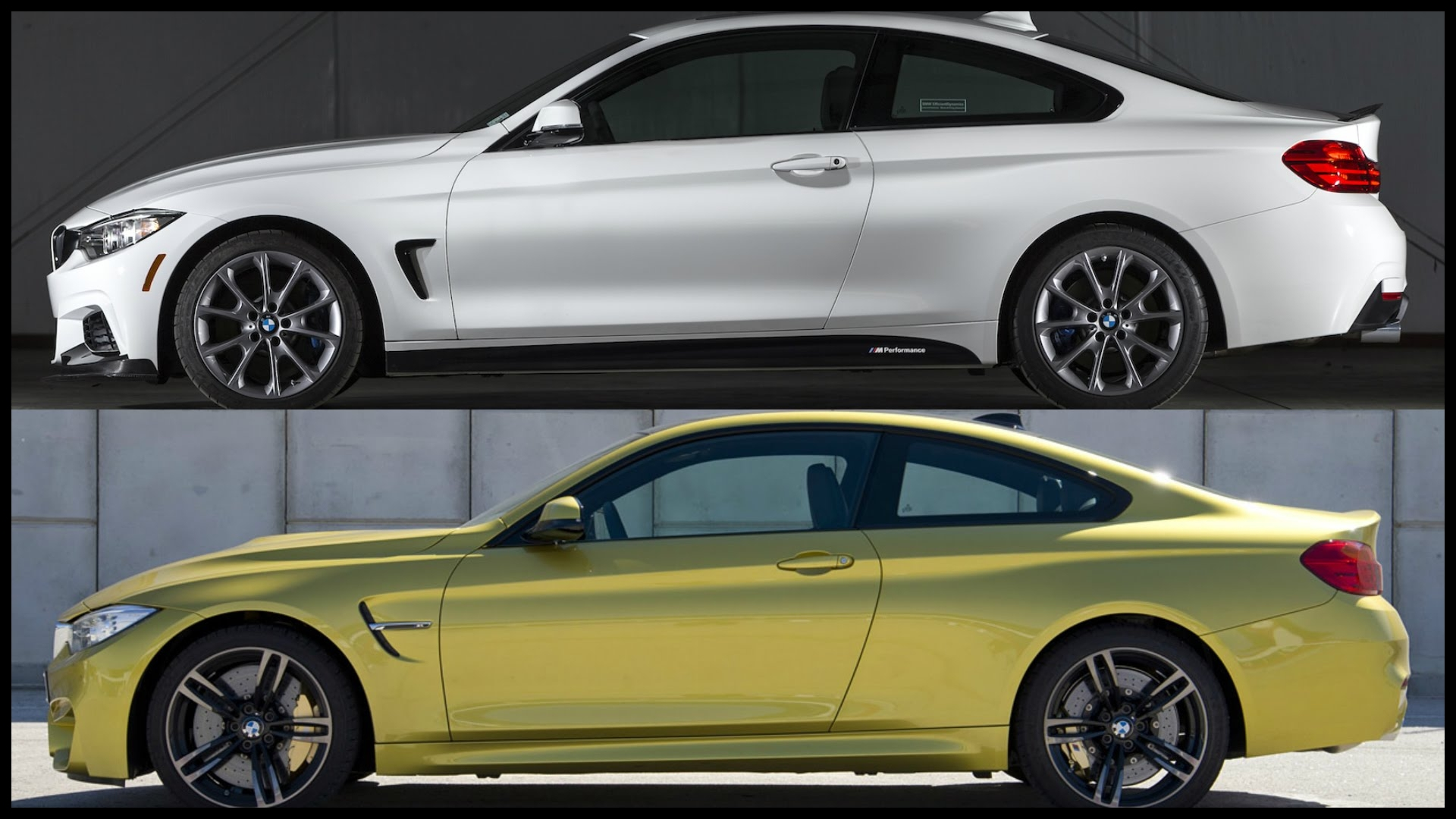 Bmw 435 Lease 2016 Bmw 435i Coupe Vs 2016 Bmw M4