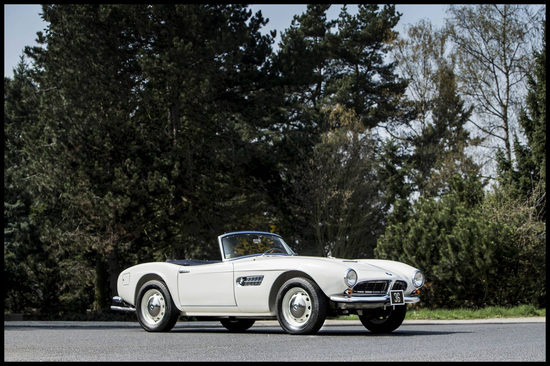This Greek king s BMW 507 is your chance at garage royalty