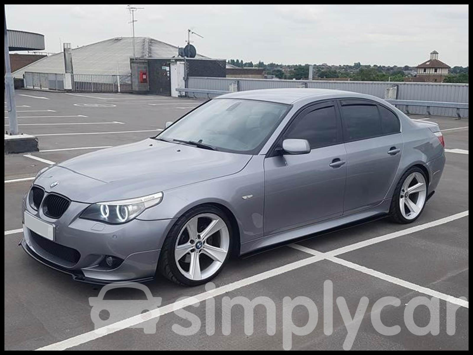 Tinted Front & Rear Window 4pc Set Heko Wind Deflectors BMW 5 Series E60 03