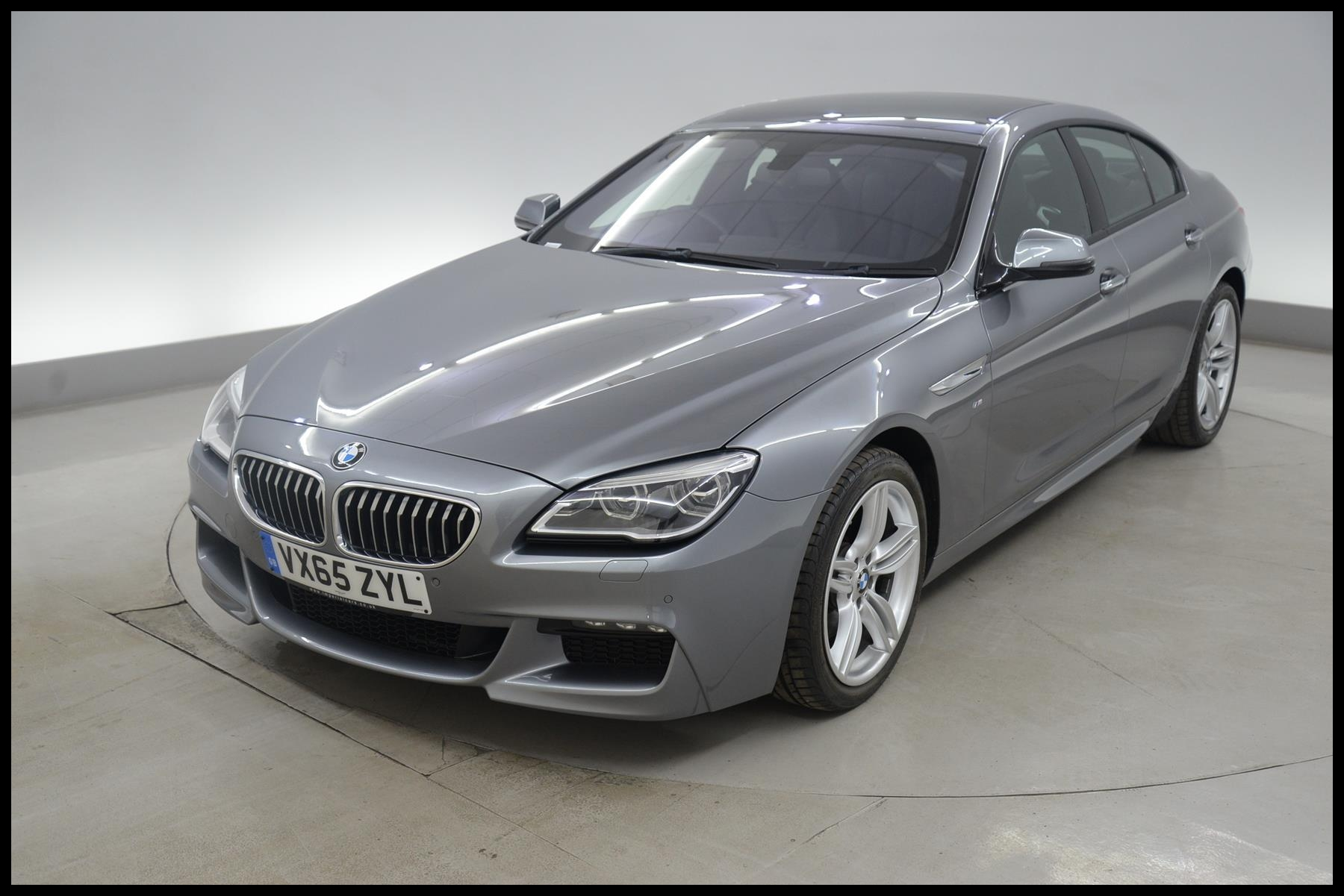 BMW 6 Series Gran Coupe 640d M Sport 4dr Auto HEATED LEATHER ADAPTIVE LED LIGHTS CLIMATE F 2015