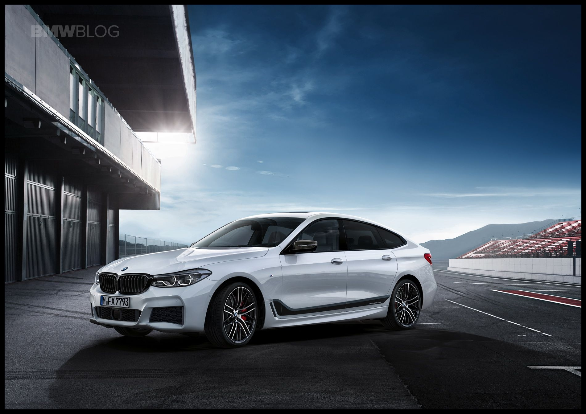The BMW M Performance Tuning accessory for the new BMW 6 Series GT will be available directly to the market launch on November 11 2017