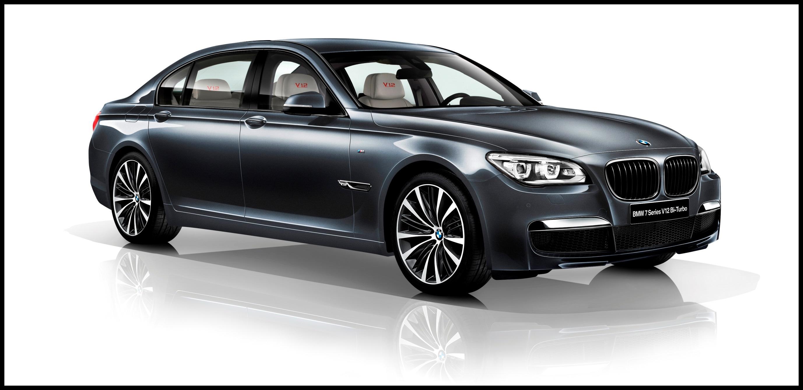 2013 BMW 7 Series V12 Bi Turbo Special Edition