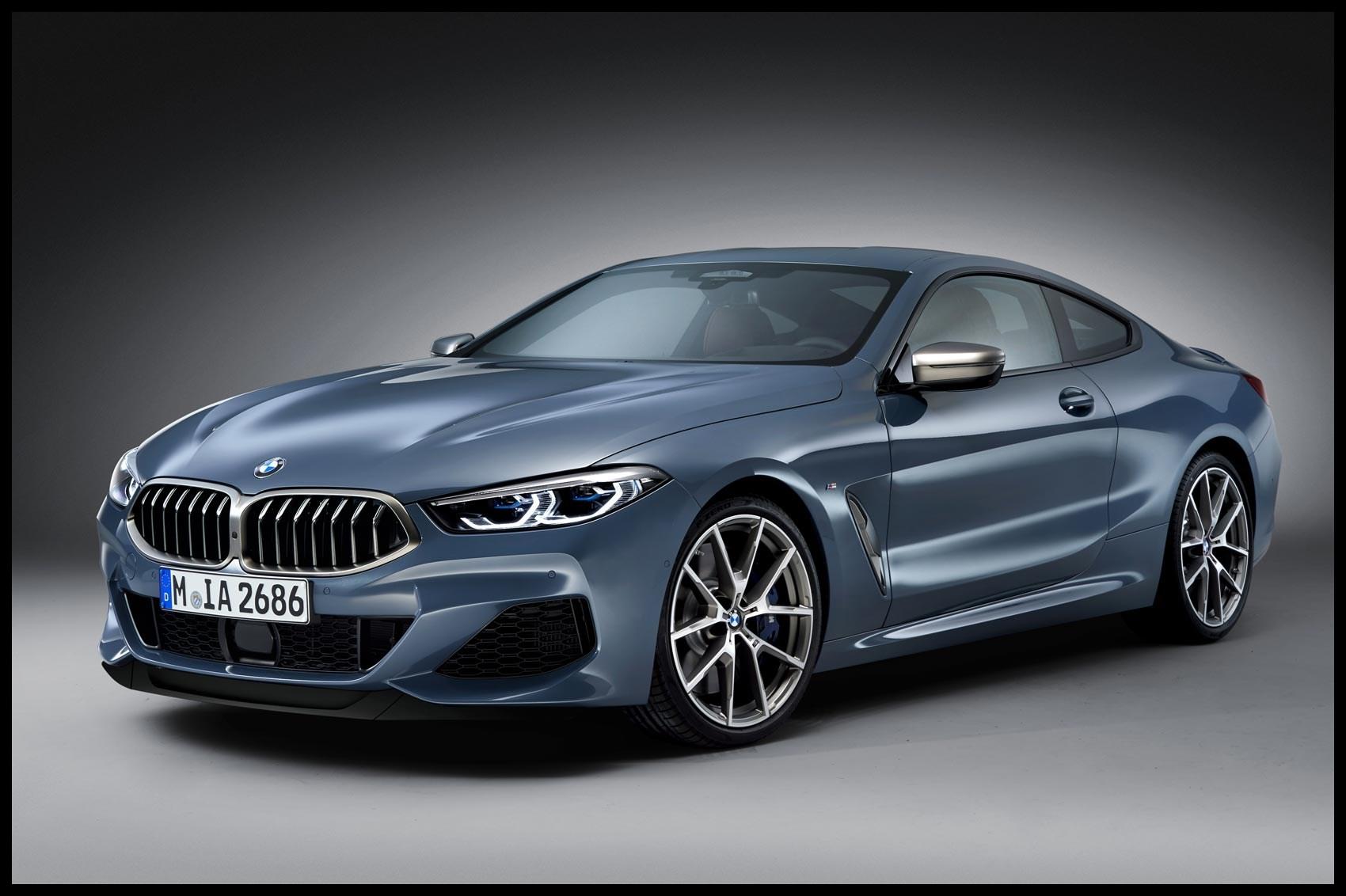 BMW 8 Series at the Paris motor show