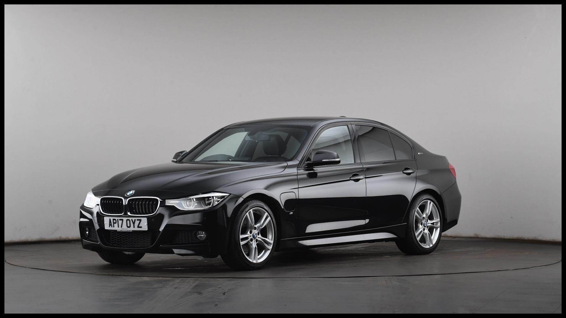 AP17OYZ used BMW 3 SERIES SALOON 330e M Sport 4dr Step Auto PetrolPlugIn Elec Hybrid Automatic BLACK 2017 XC L 10