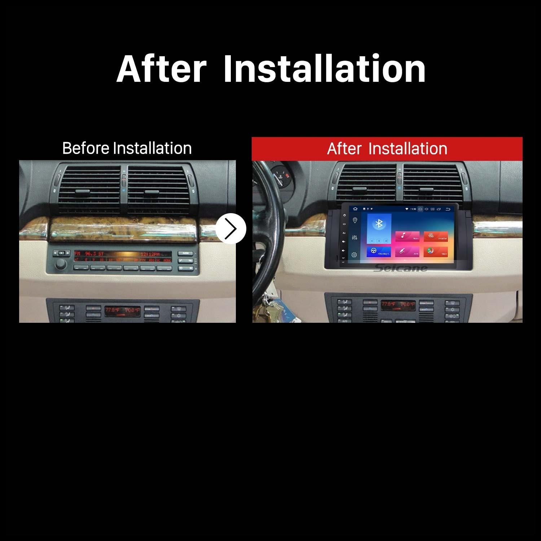 9 inch Android 8 0 Autoradio GPS Car A V system for 2000 2007 BMW X5 E53