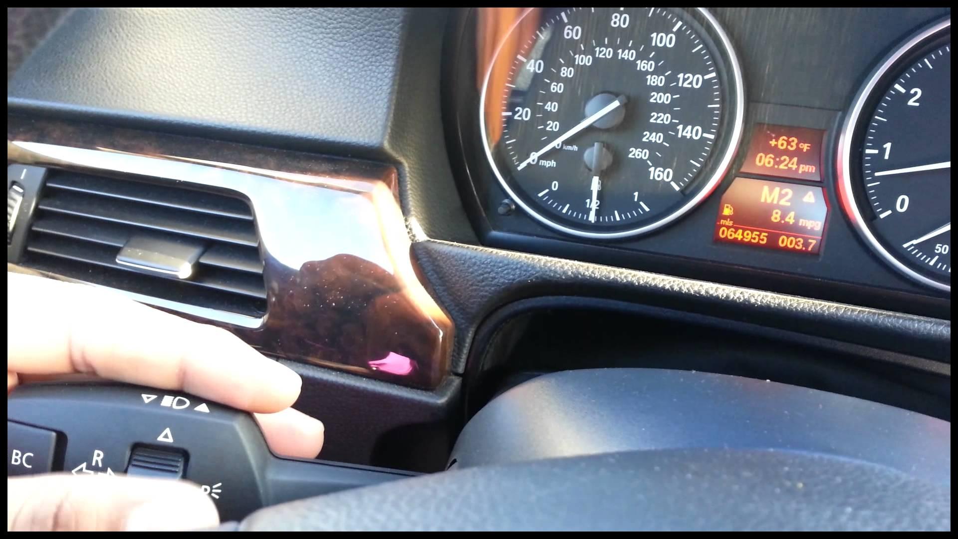 BMW E90 BC Button Inoperative