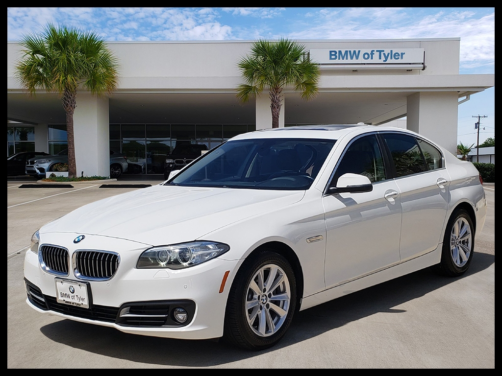 Certified Pre Owned 2015 BMW 5 Series 528i xDrive 4dr Car in Tyler X790