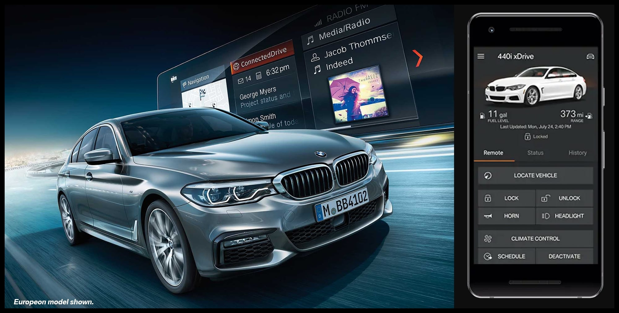 Our team at BMW of Reading your Reading BMW destination think our customers will thoroughly enjoy using the BMW ConnectedDrive feature because having that