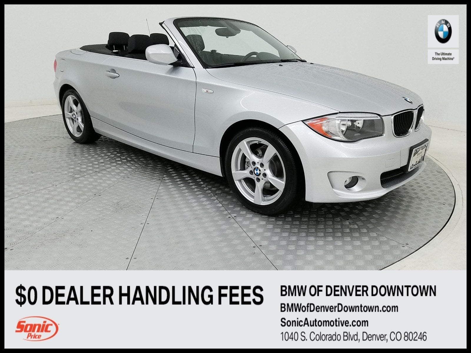 2012 BMW 128i Convertible