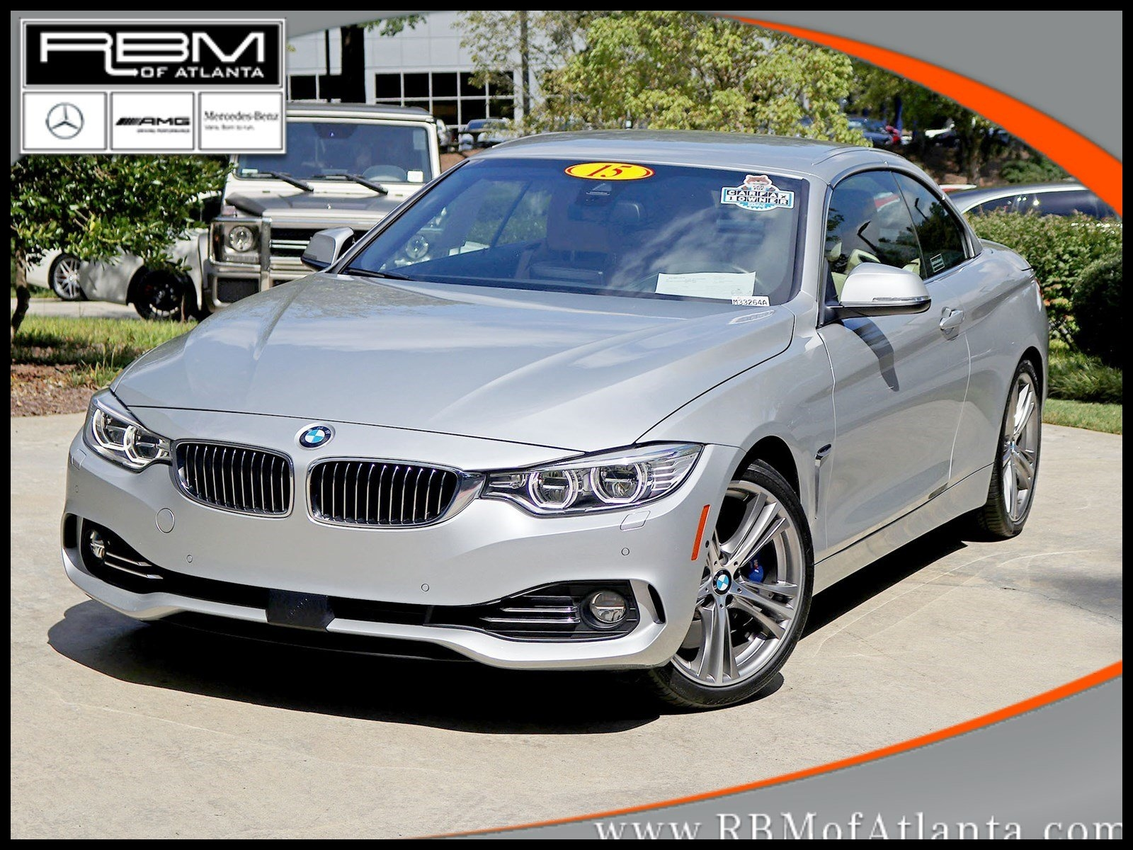 Pre Owned 2015 BMW 4 Series 435i Convertible