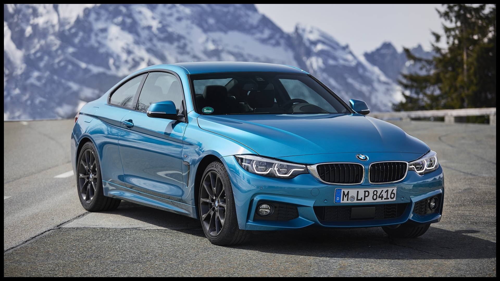 Real time traffic updates plus navigation information e to life on an upgraded high resolution digital instrument cluster in the new 2019 BMW 430i