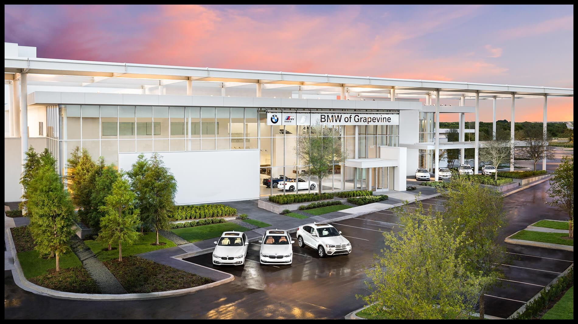 Sewell BMW Grapevine Exterior
