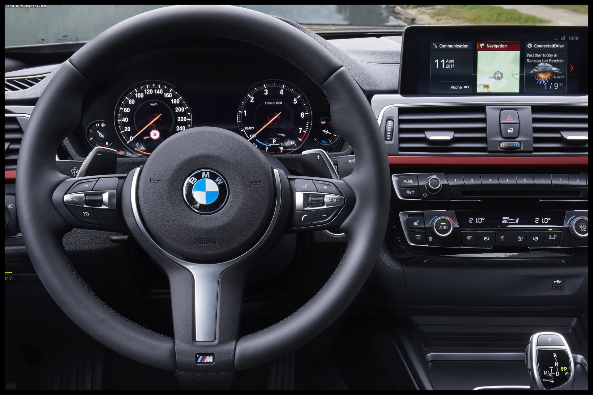 3 seriesBMW 4 SeriesMultifunction Instrument Display