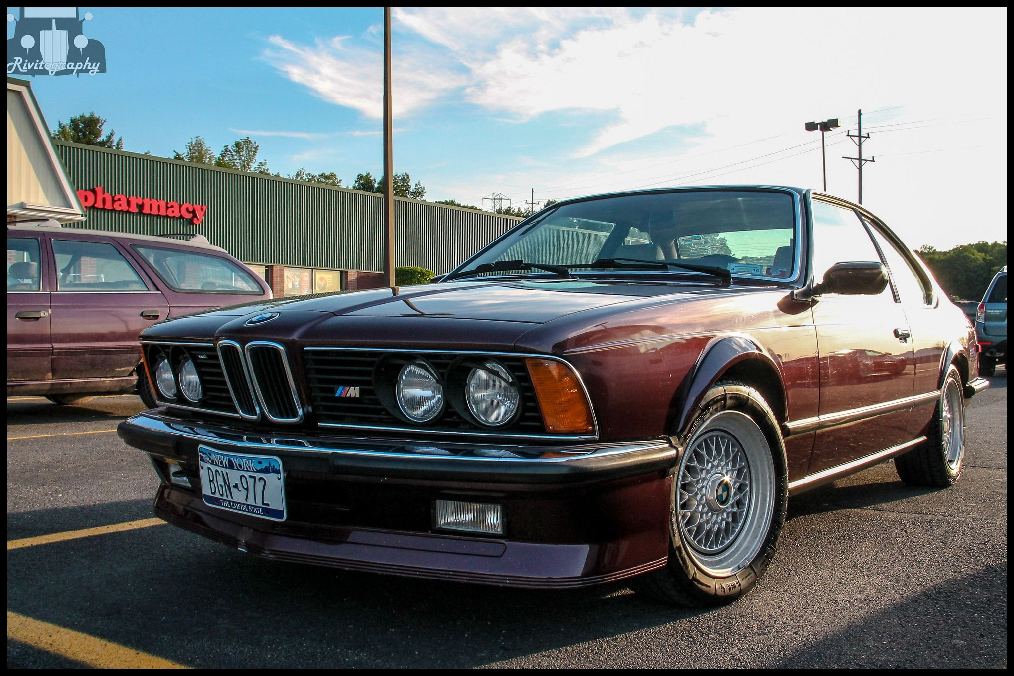 Bmw E24 M6 for Sale 1986 Bmw M6 E24