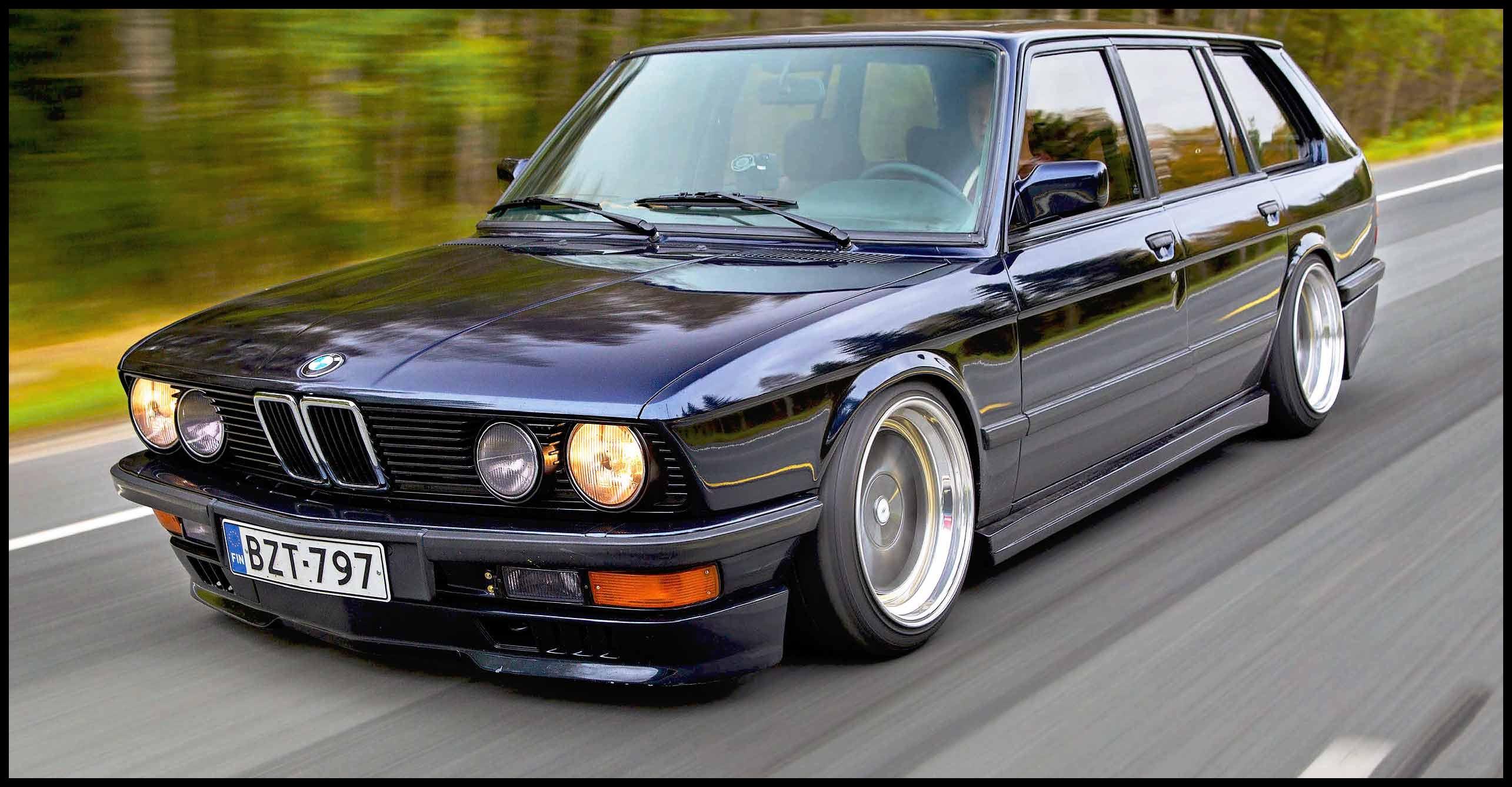 Ultra rare BMW 535i Touring E28