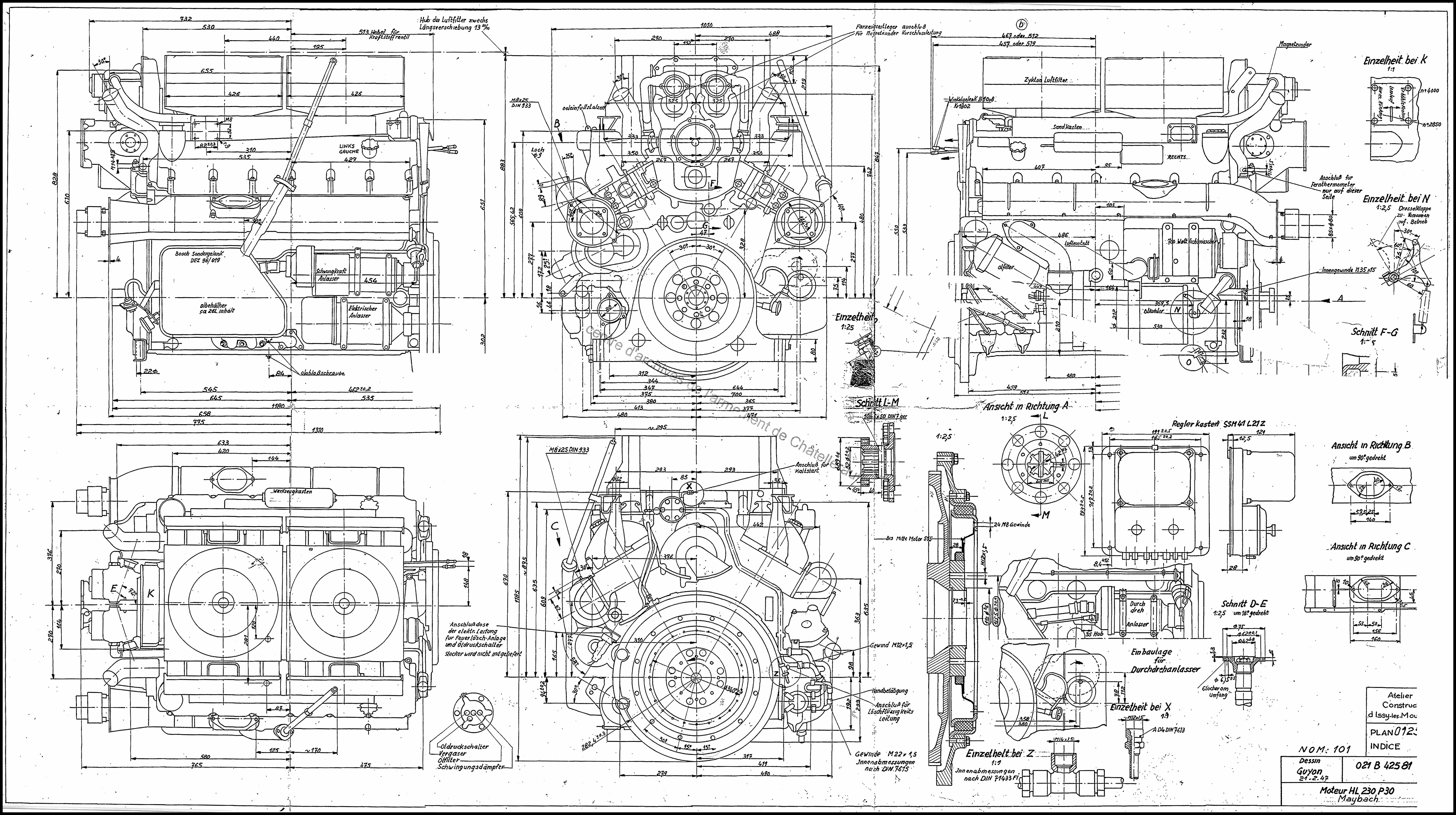 any idea how to model this engine from it s blueprint