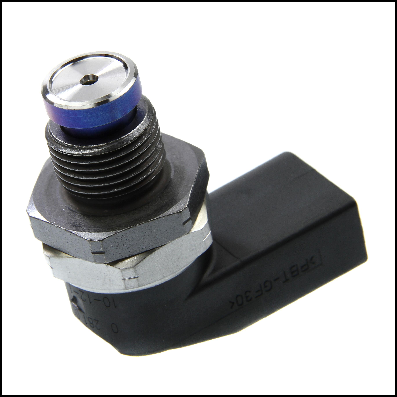 Bosch Fuel Pressure Sensor Fits BMW 2 0 2 5 3 0D All Series 09 01