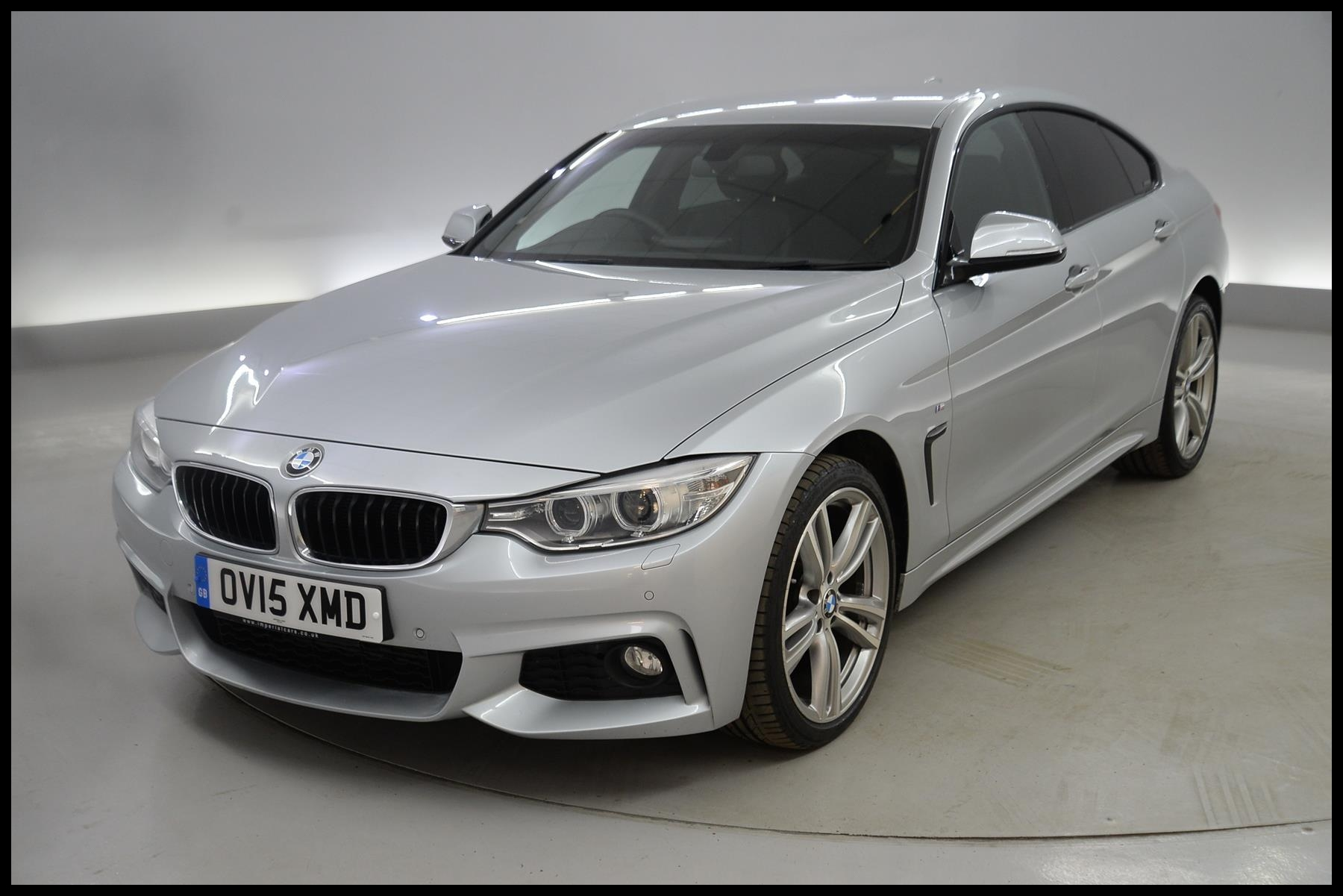 BMW 4 Series Gran Coupe 420d [190] xDrive M Sport 5dr Auto [Prof Media] ELECTRIC FOLDING MIRRORS 2015