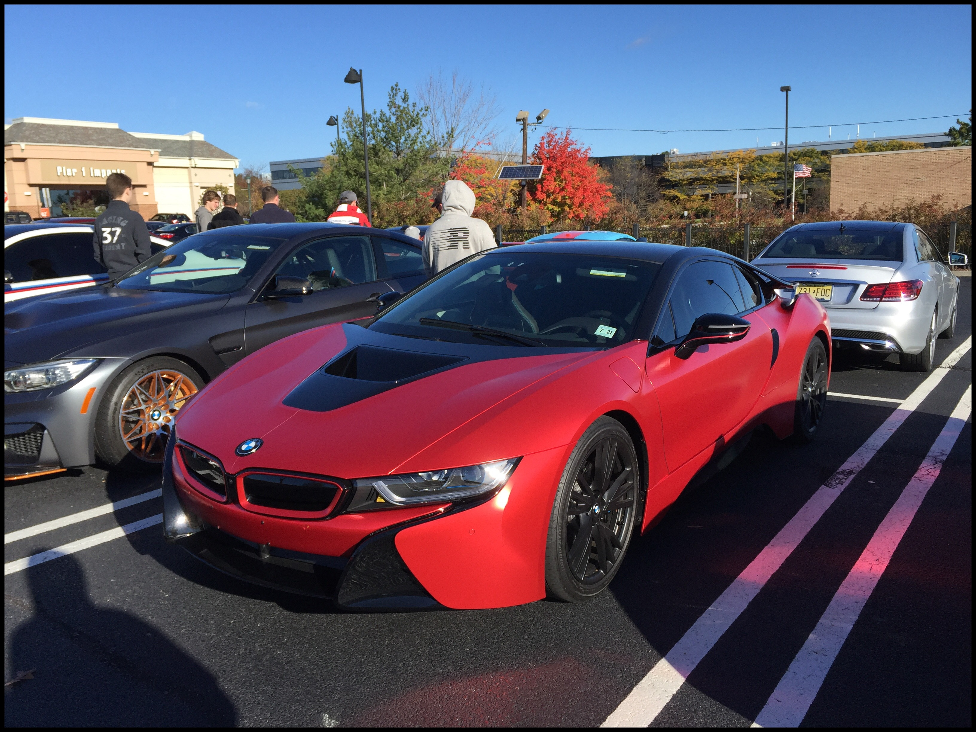 BMW BMW I8 at Cars and Caffee in Woodcliff Lake NJ Car Spotting