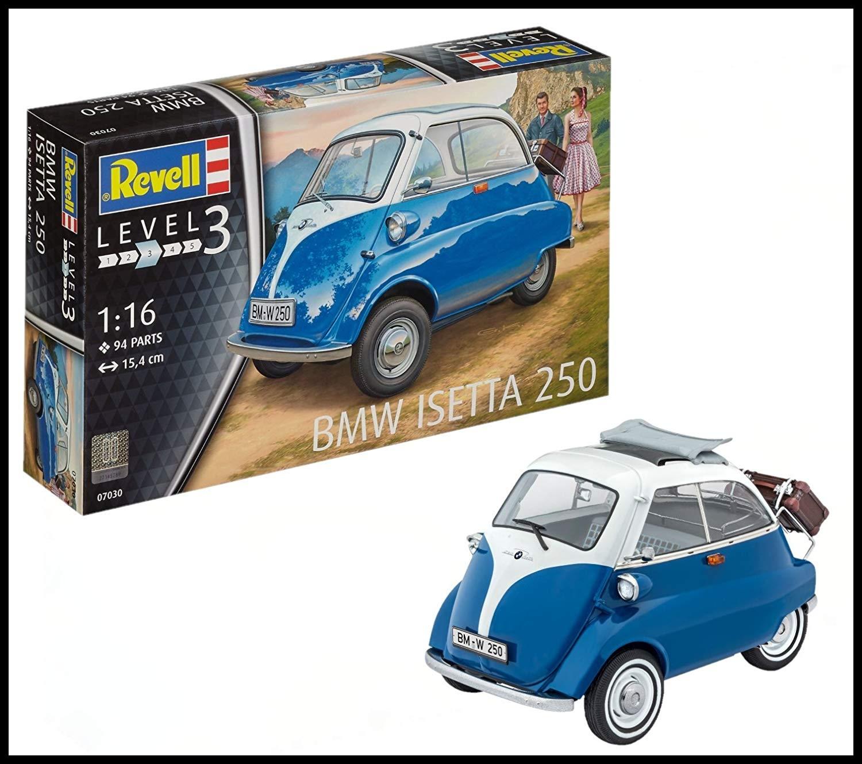 Revell BMW Isetta 250 Model Kit 1 16 Scale 15 4 cm Amazon Toys & Games