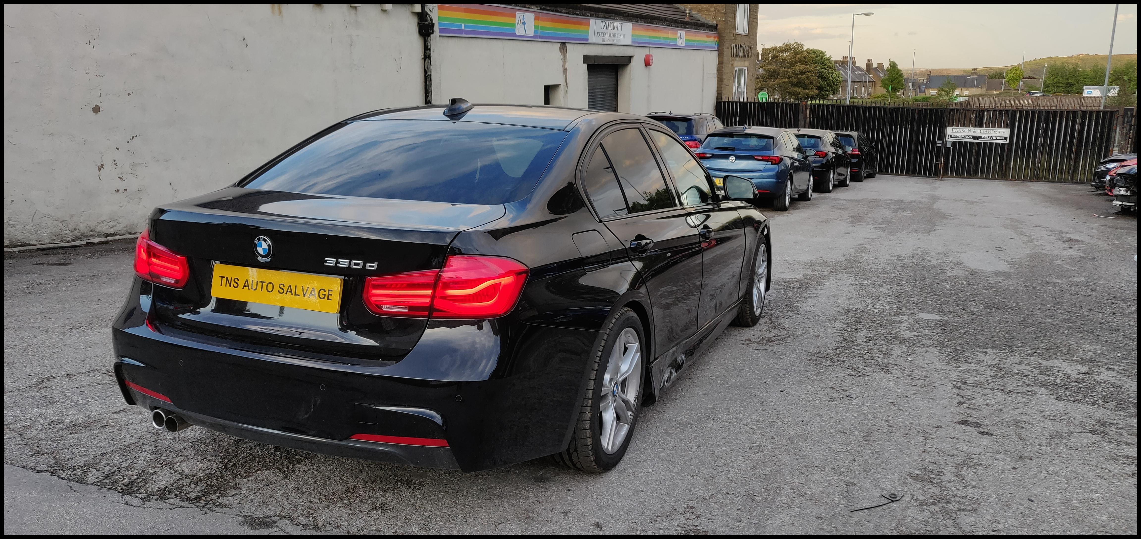 2018 18 BMW 3 SERIES 330D M SPORT AUTO CAT S DAMAGED SALVAGE TNS Autosalvage
