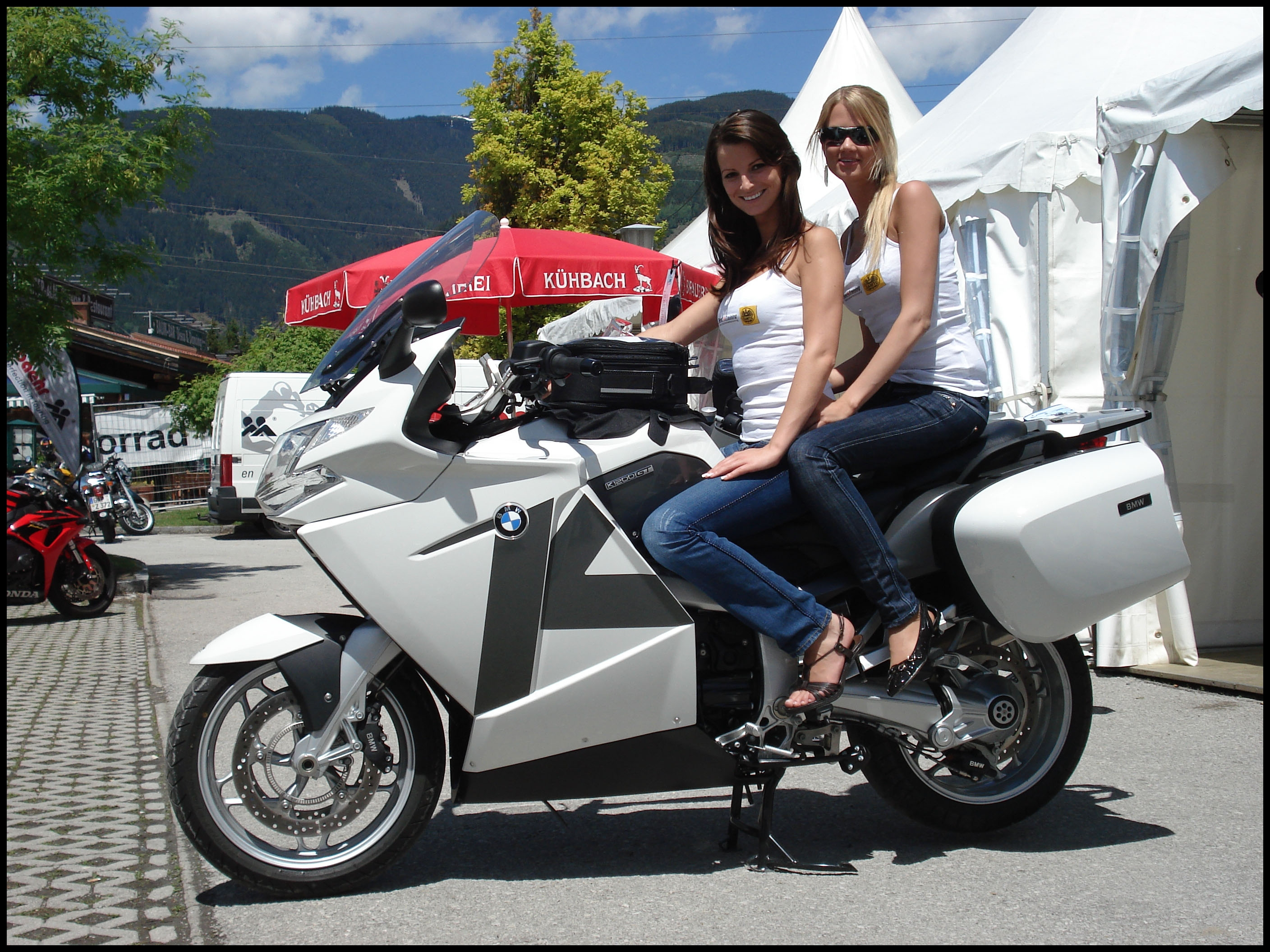 BMW Motorcycle K1200GT Boxen Luder Printable Picture
