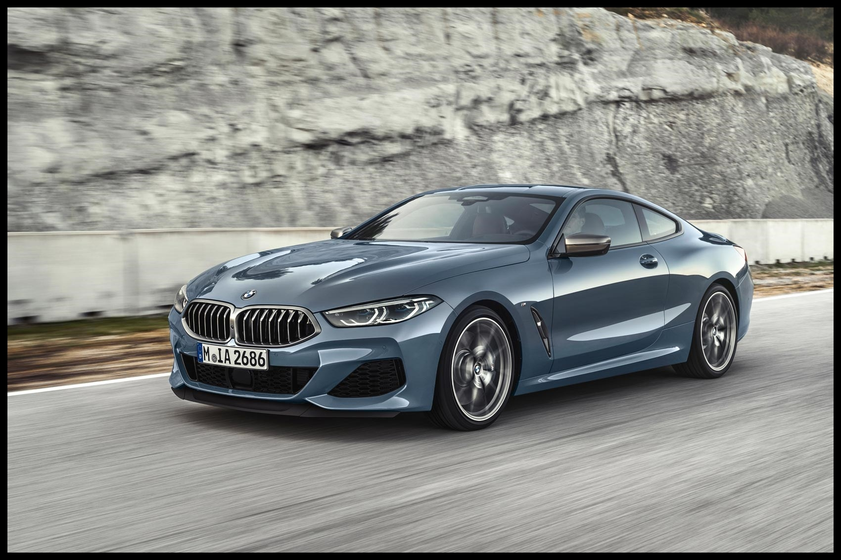 BMW 8 Series at the Paris motor show