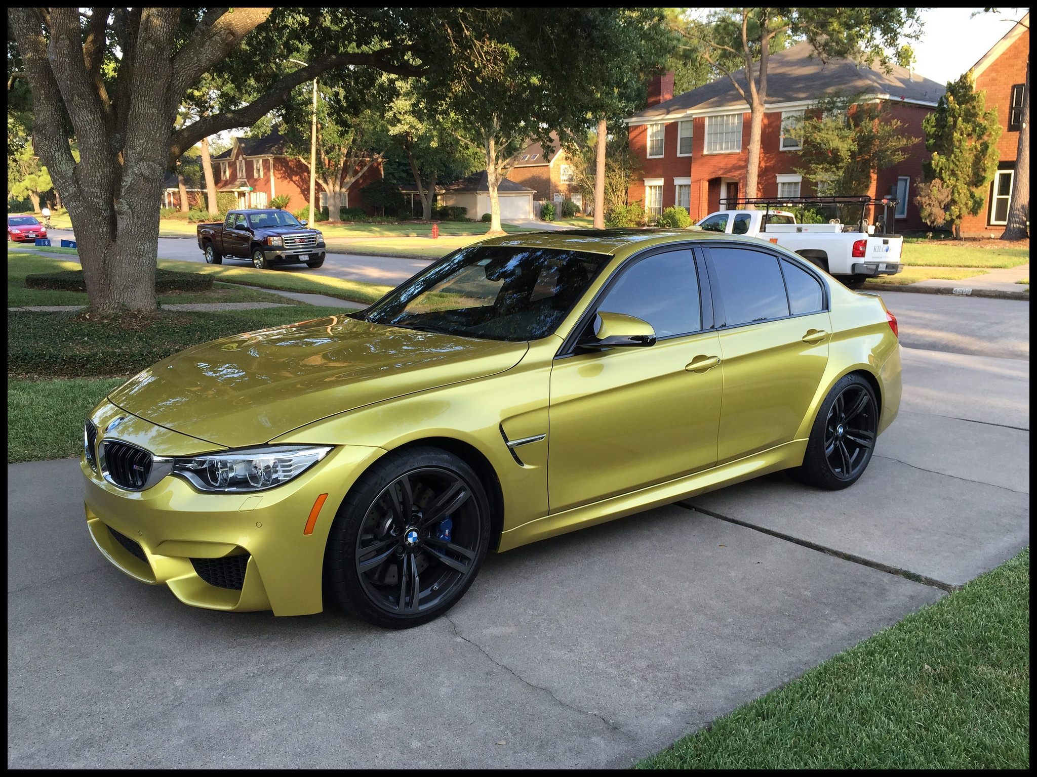 Definitely excited ing from a F30 335i this is a pletely different beast Been lurking on the F80 forums for a while so happy to be e a member and