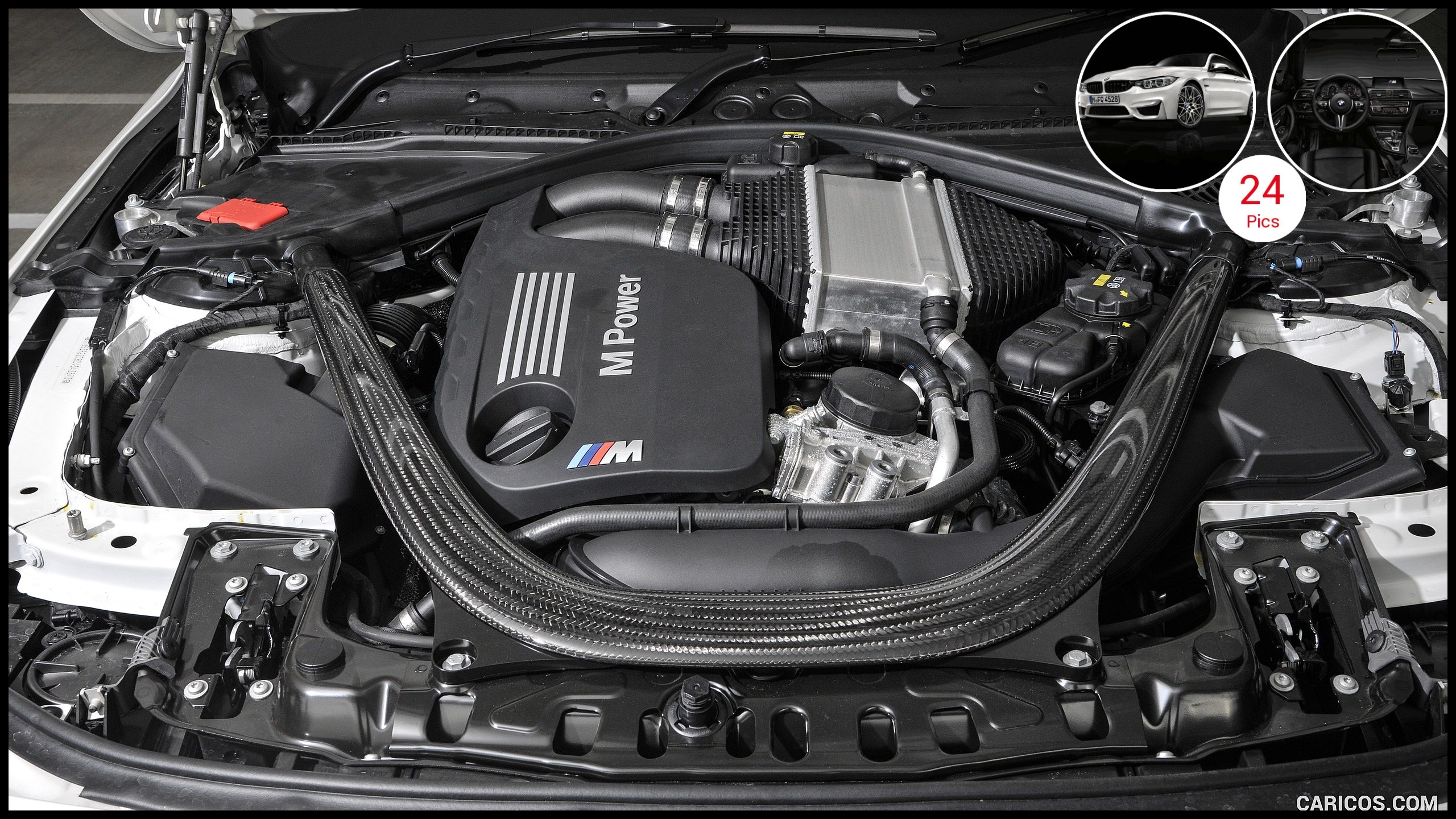 2016 BMW M4 Coupe petition Package UK Spec Engine Wallpaper