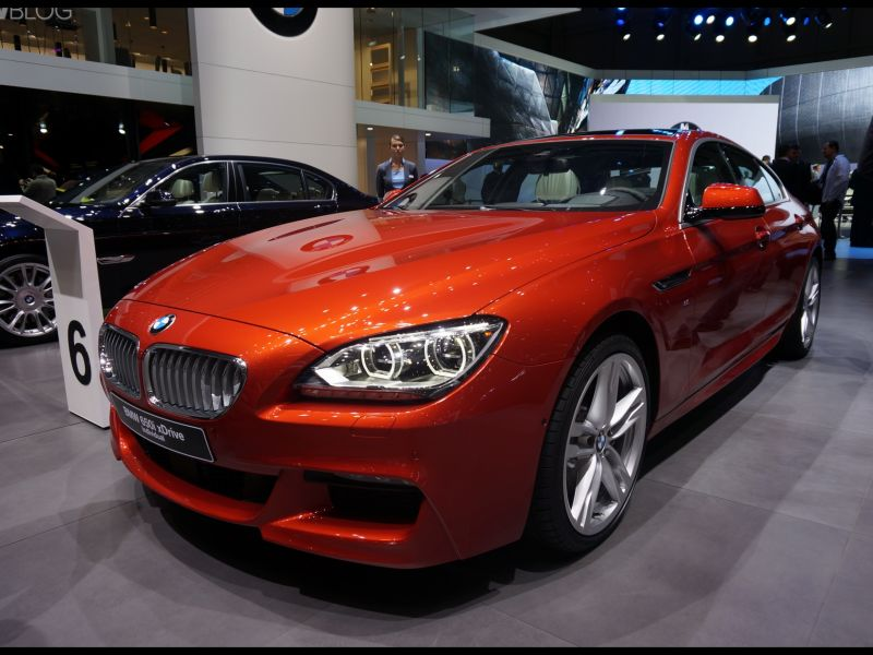 Bmw M6 Gran Coupe orange