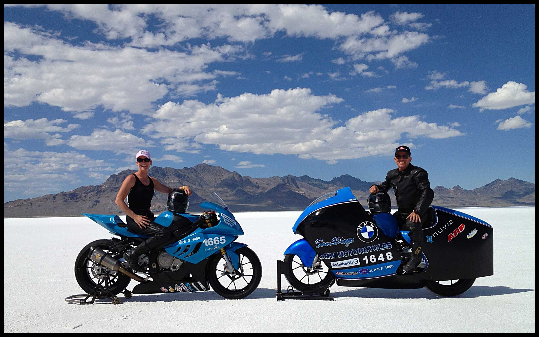 San Diego BMW Motorcycles BMW S 1000 RR Tops 224 MPH At Bonneville s SCTA Speedweek Event