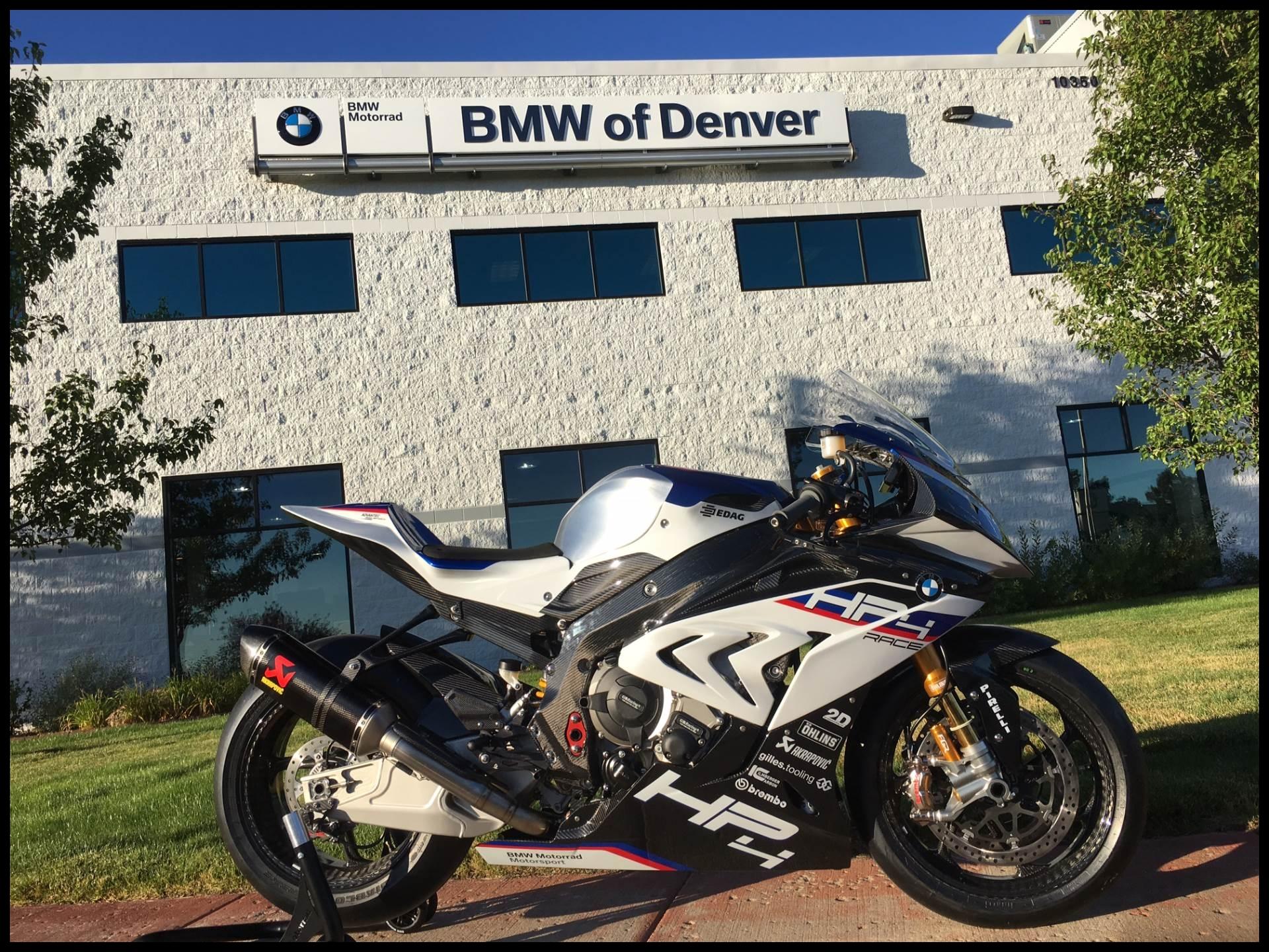 2018 BMW HP4 RACE in Centennial Colorado