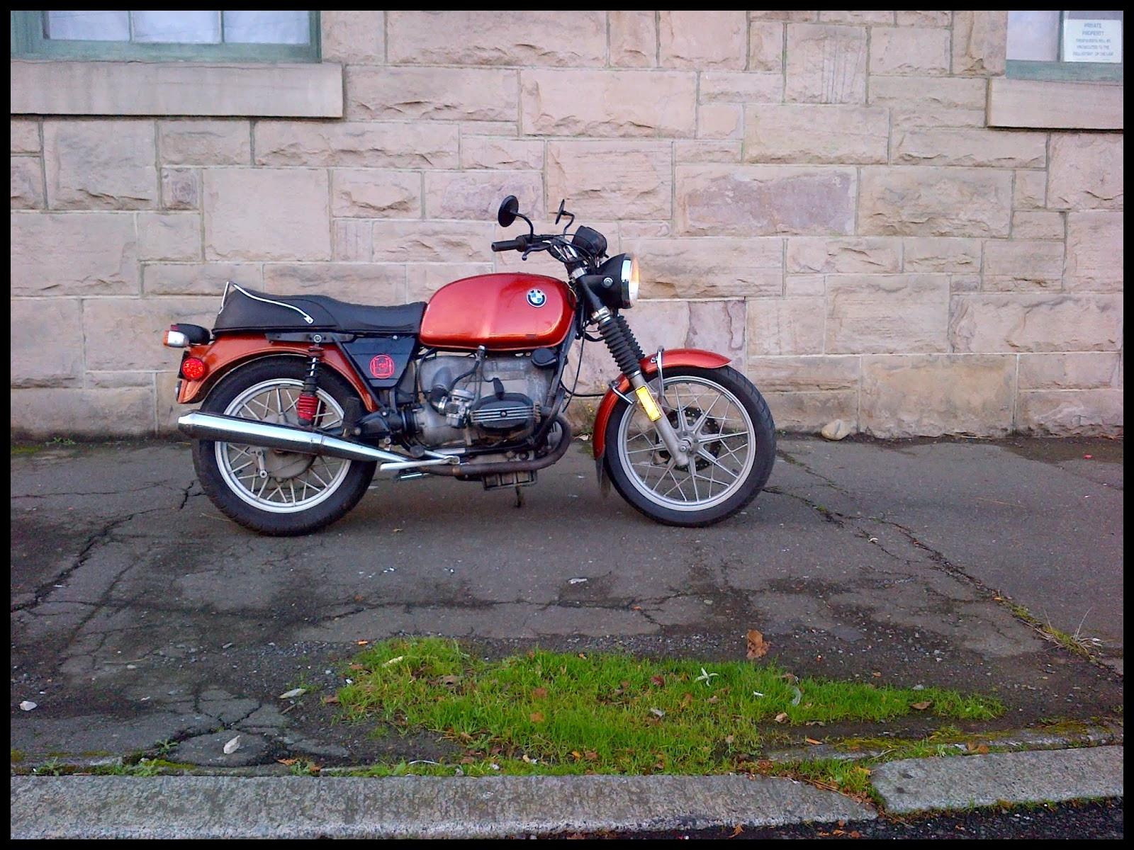 Bmw R100 7t Near Seattle Soviet Steeds Full Hd Wallpaper Bmw R100