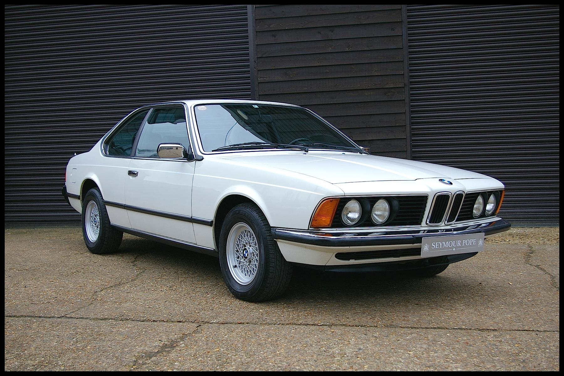 BMW E24 633 CSI AUTOMATIC COUPE STUNNING LOW MILEAGE EXAMPLE 1982
