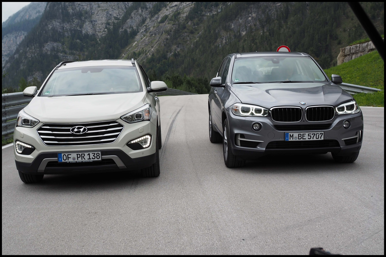 2018 Bmw X5 Vs X6 Luxury Bmw X5 Vs Hyundai Grand Santa Fe Grip Folge 315