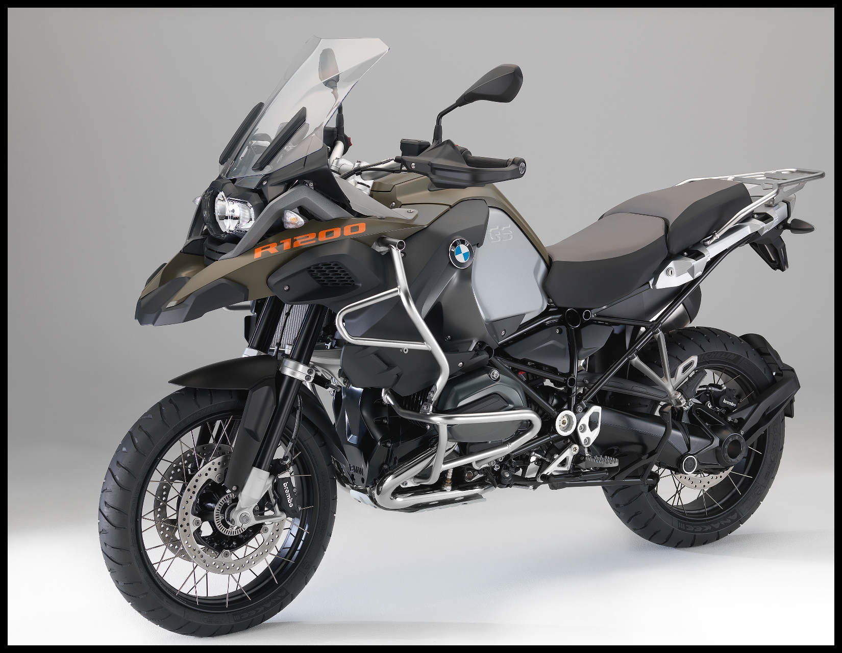 Highlights of the new BMW R 1200 GS Adventure