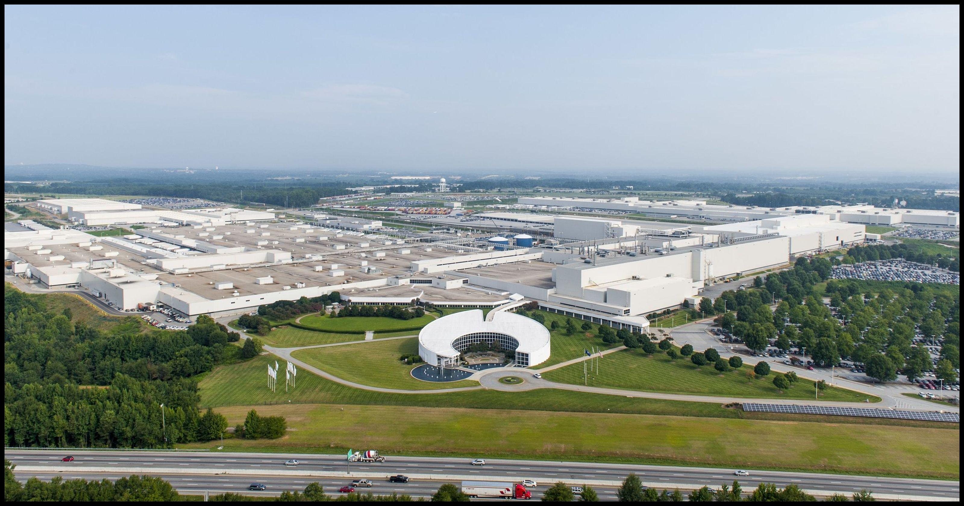 BMW plant aerial 2013