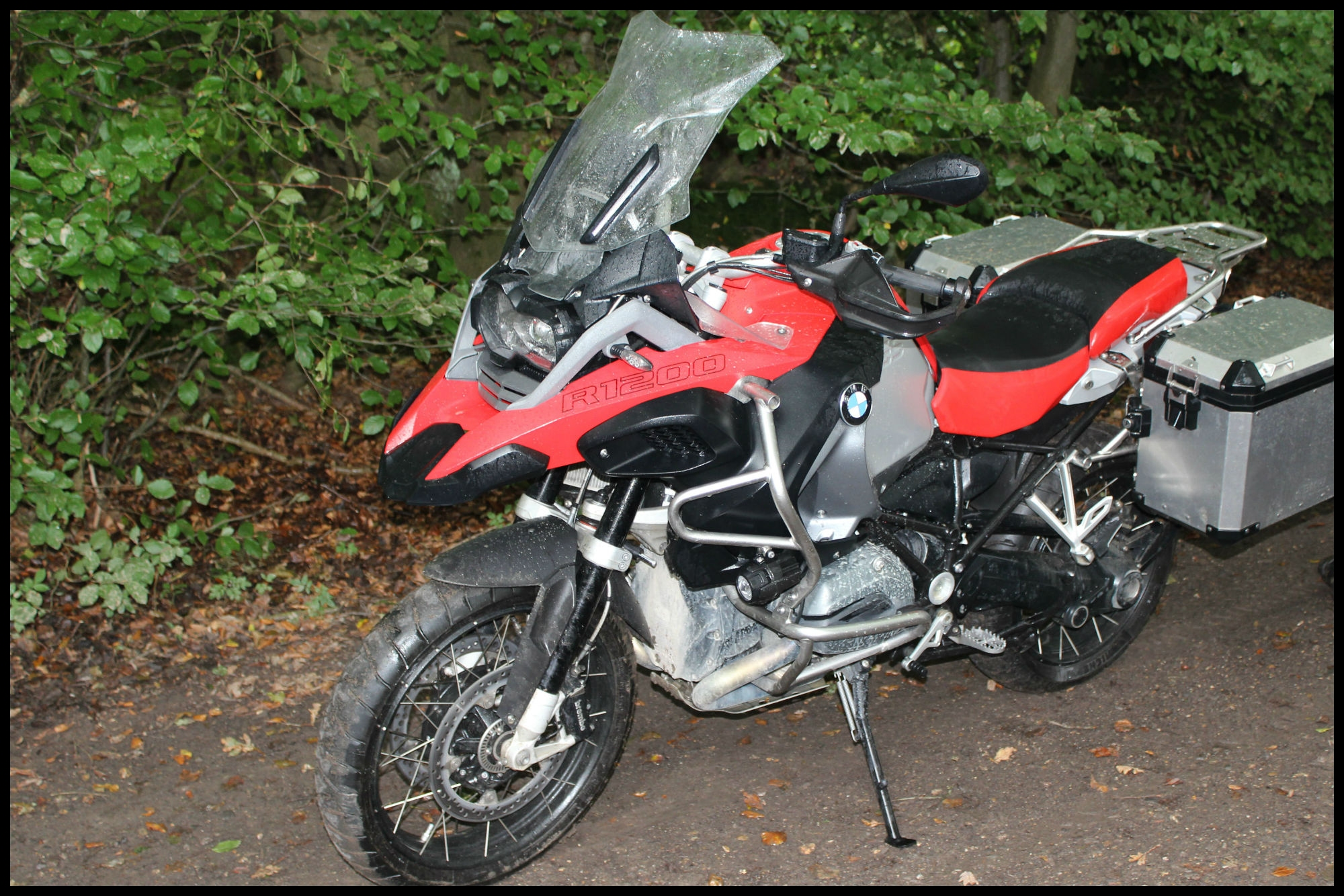 Back to back test BMW R1200GS Adventure vs Honda Africa Twin review