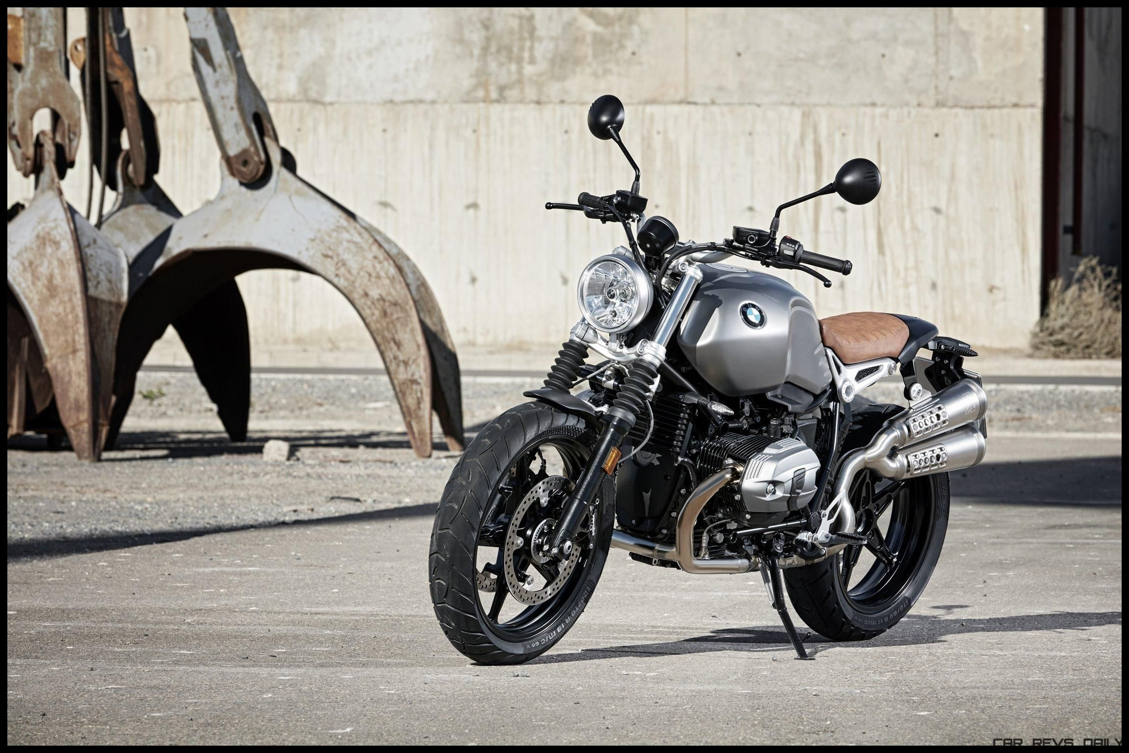 Last week we broke news that BMW released a scrambler version of their R nineT roadster They officially uncovered the bike at EICMA in Milan