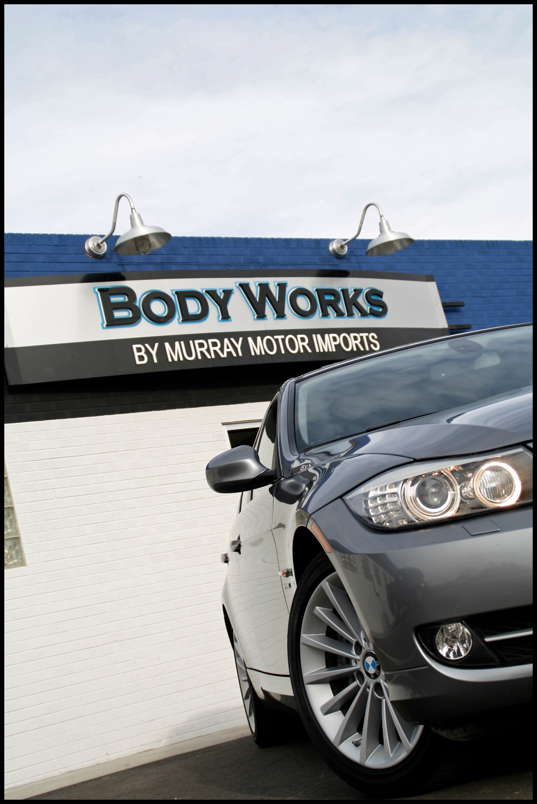 Bodyworks by Murray Motor Imports is proud to announce the finest in auto body and collision repair at our factory authorized body shop