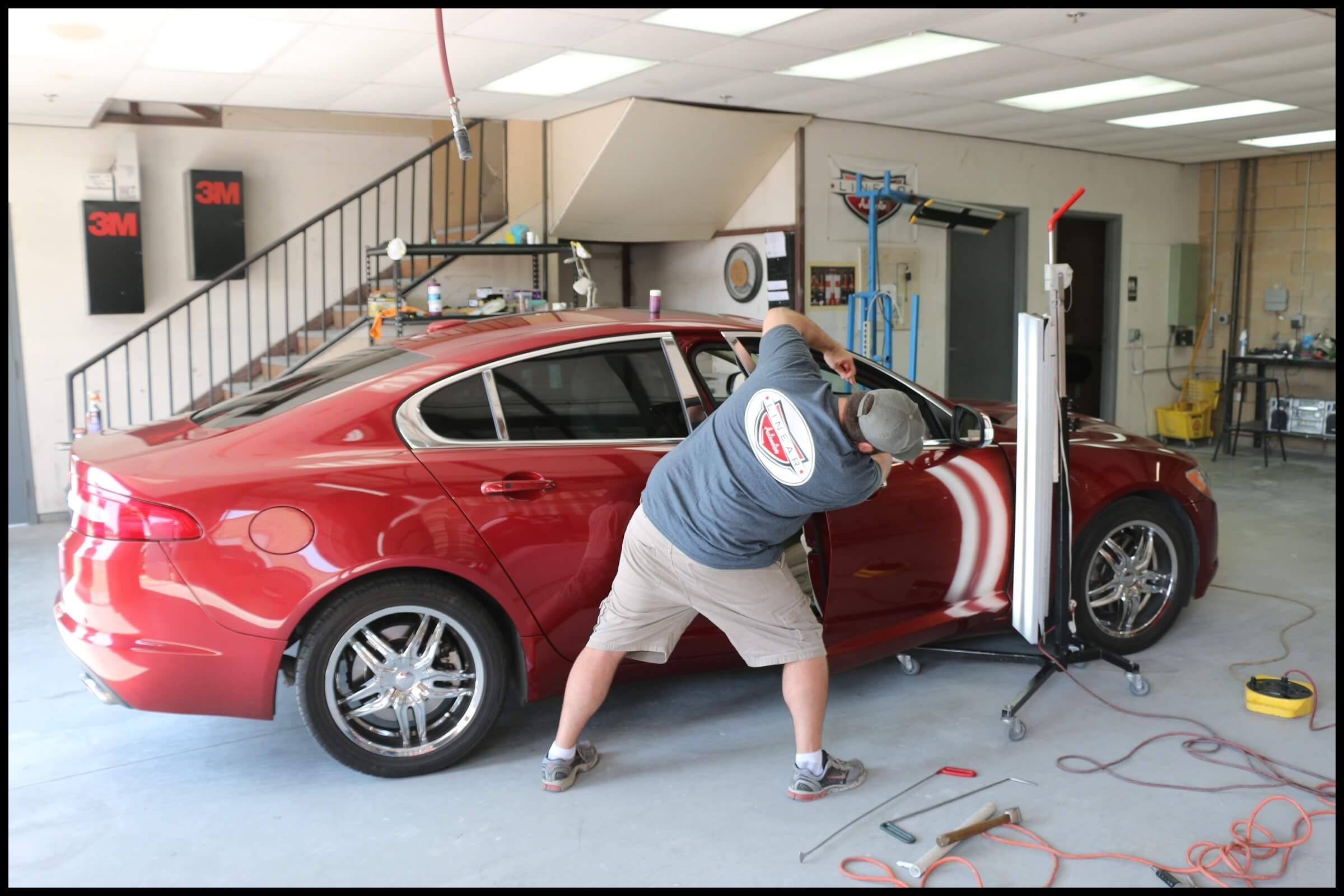 Toyota Hail Damage Repair in Plano Texas