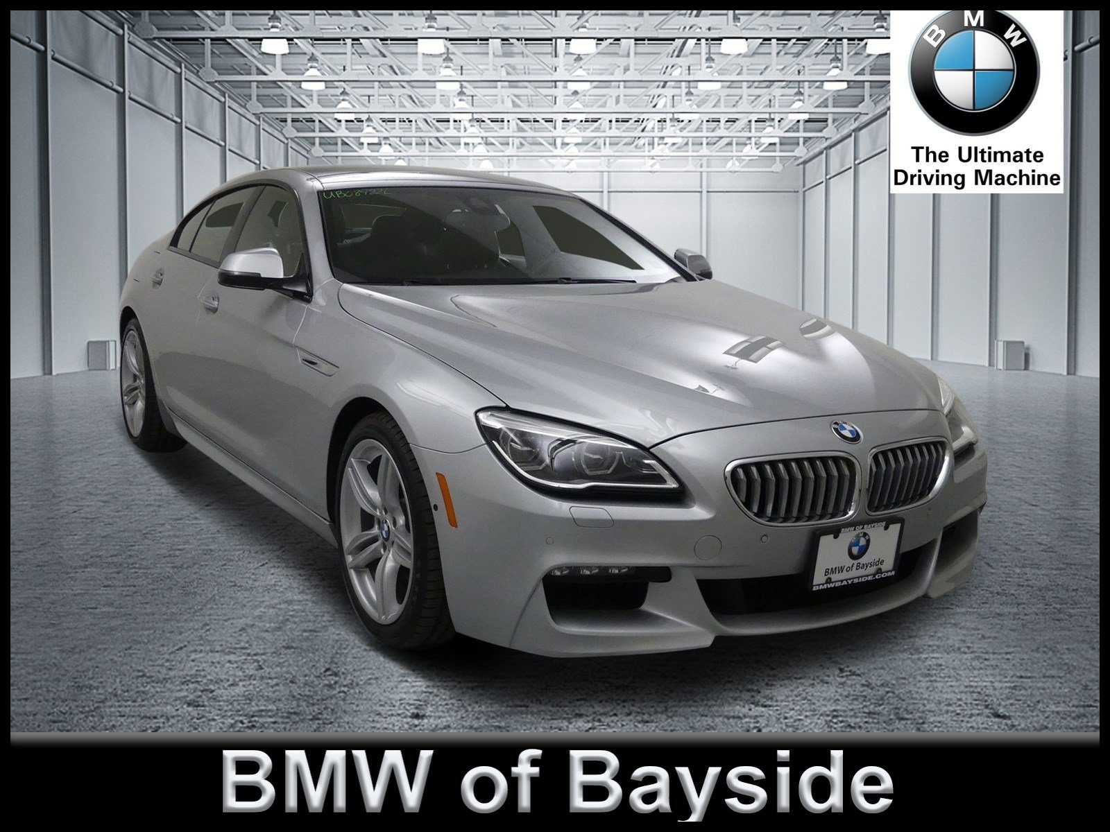 Certified Pre Owned 2017 BMW 6 Series 650i xDrive