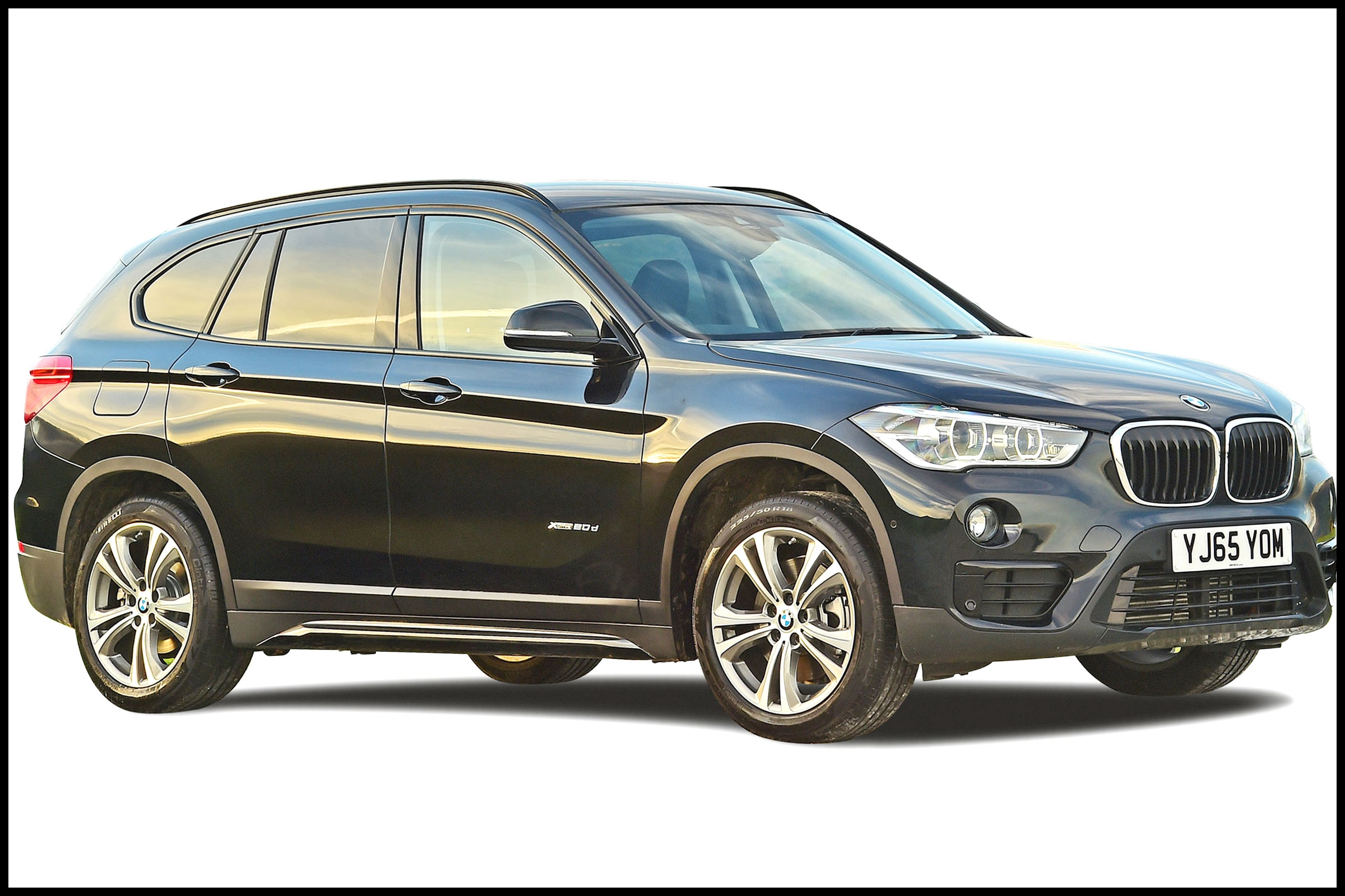 bmw x1 cut out