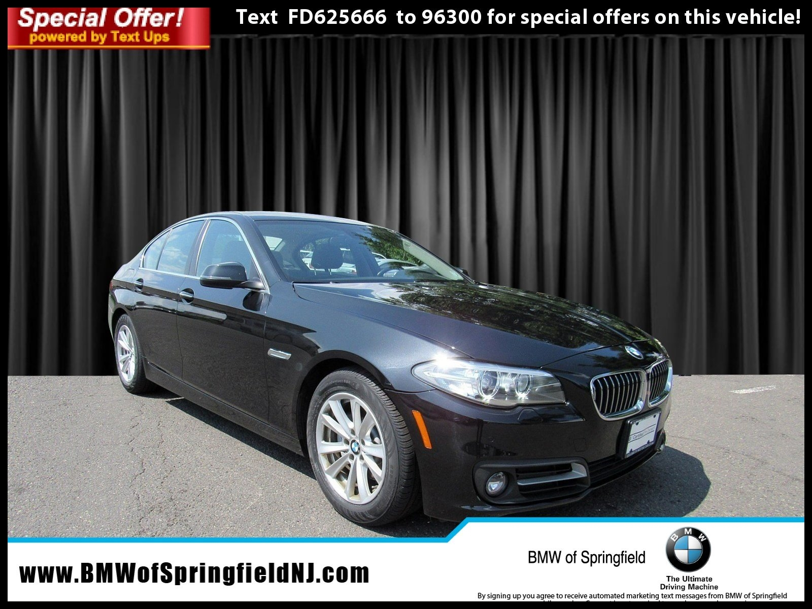 Certified Pre Owned 2015 BMW 5 Series 528i xDrive