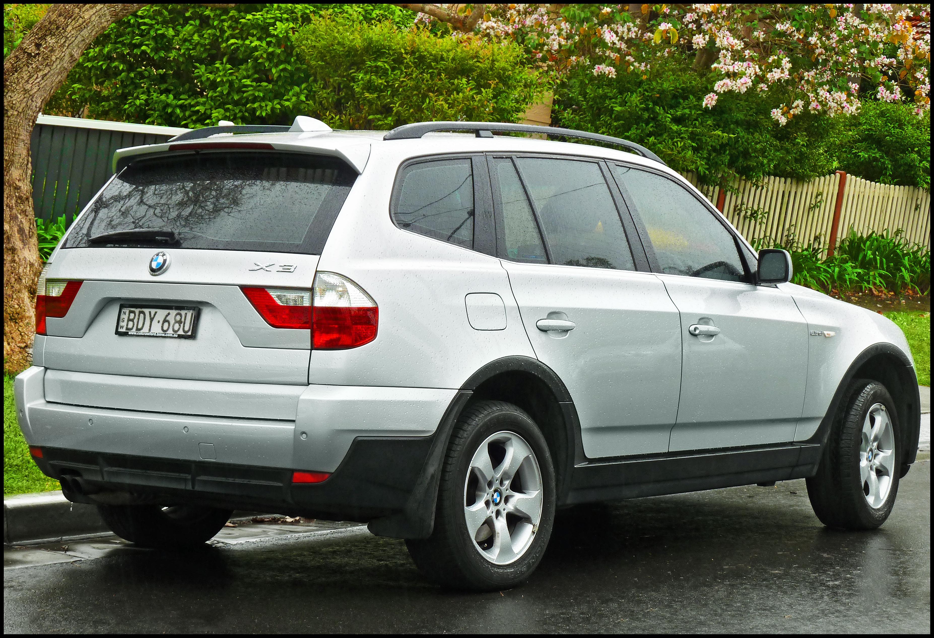 2008 BMW X3 3 BMW X3 3