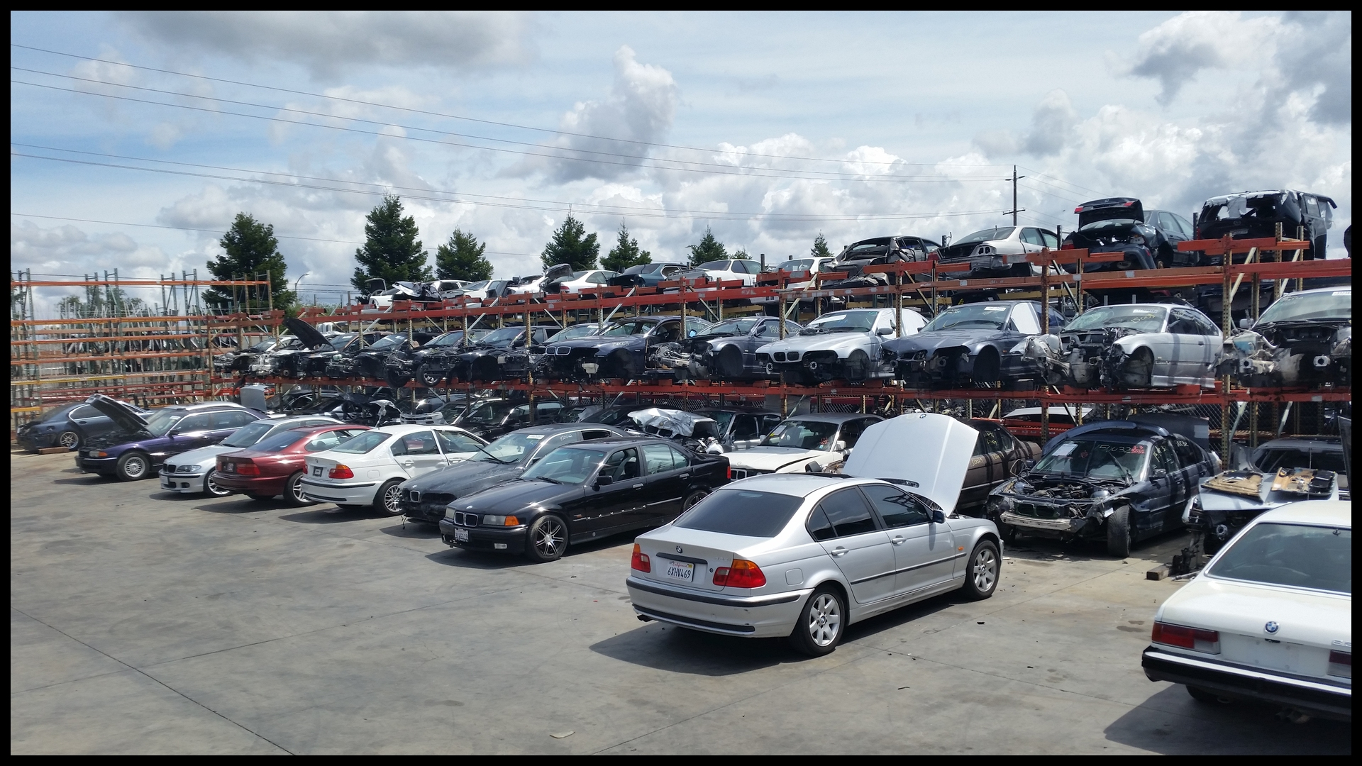 BMW SALVAGE YARD